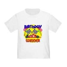 Racecar 2nd Birthday T