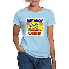Racecar 4th Birthday T-Shirt