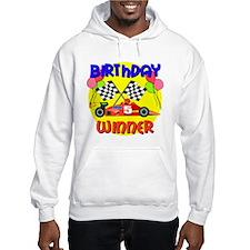 Racecar 5th Birthday Hoodie