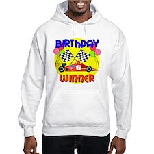 Racecar 6th Birthday Hoodie