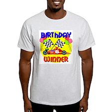 Racecar 6th Birthday T-Shirt