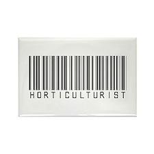 Horticulturist Barcode Rectangle Magnet