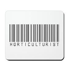 Horticulturist Barcode Mousepad