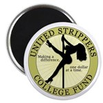 United Strippers College Fund Magnet