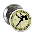 """United Strippers College Fund 2.25"""" Button"""