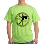 United Strippers College Fund Green T-Shirt
