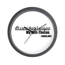 Psychology: My Anti-Thetan. Wall Clock