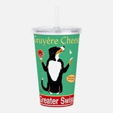 Greater Swiss Gruyère Acrylic Double-wall Tumbler