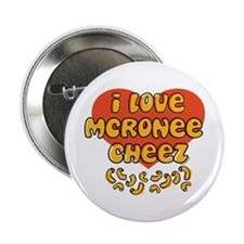 "I Love Mac and Cheese 2.25"" Button"