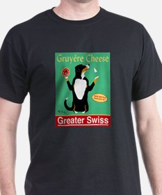 Greater Swiss Gruyère Cheese T-Shirt