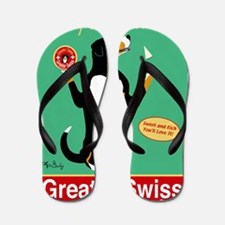Greater Swiss Gruyère Cheese Flip Flops