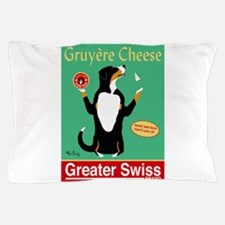 Greater Swiss Gruyère Cheese Pillow Case