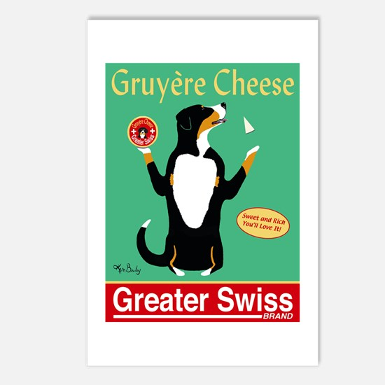 Greater Swiss Gruyère Che Postcards (Package of 8)