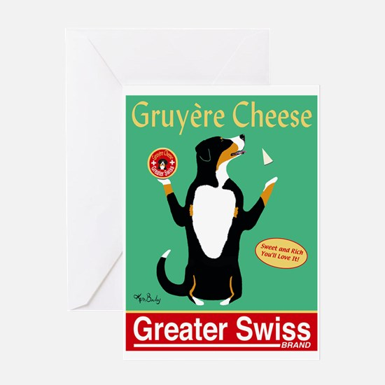 Greater Swiss Gruyère Cheese Greeting Card