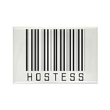 Hostess Barcode Rectangle Magnet