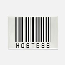 Hostess Barcode Rectangle Magnet