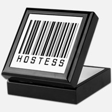 Hostess Barcode Keepsake Box