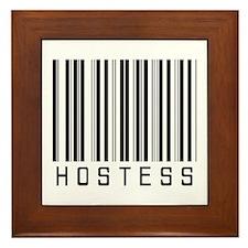 Hostess Barcode Framed Tile