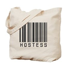 Hostess Barcode Tote Bag