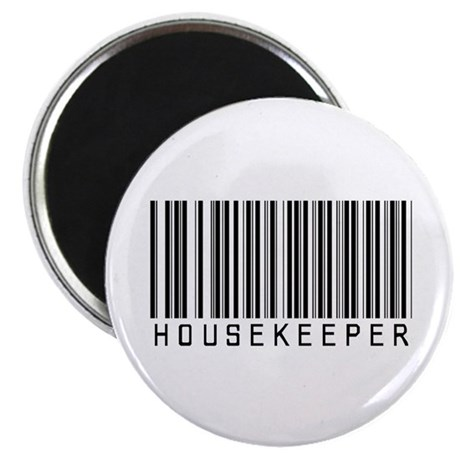 """Housekeeper Barcode 2.25"""" Magnet (10 pack)"""