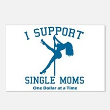 BL I Support Single Moms Postcards (Package of 8)