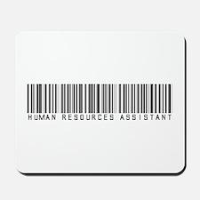 Human Res. Asst. Barcode Mousepad