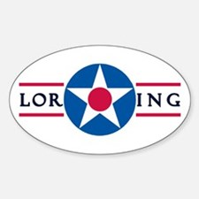 Loring Air Force Base Oval Decal