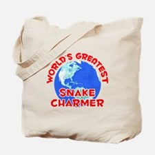 World's Greatest Snake.. (F) Tote Bag