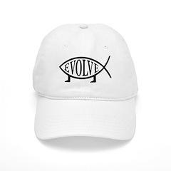 Evolution Fish Baseball Cap