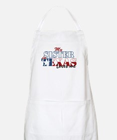 My Sister in TX BBQ Apron