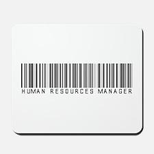 Human Res. Mgr. Barcode Mousepad