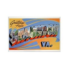 Staunton Virginia Greetings Rectangle Magnet