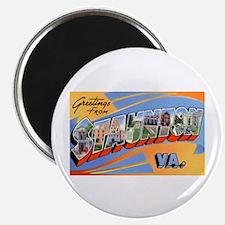 Staunton Virginia Greetings Magnet