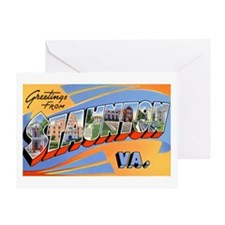 Staunton Virginia Greetings Greeting Card