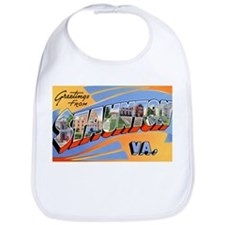 Staunton Virginia Greetings Bib