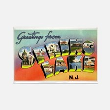 Spring Lake New Jersey Rectangle Magnet