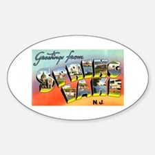 Spring Lake New Jersey Oval Decal