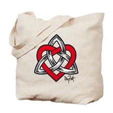 Faithful Heart Tote Bag
