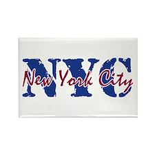 New York City Rectangle Magnet