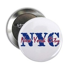 "New York City 2.25"" Button"
