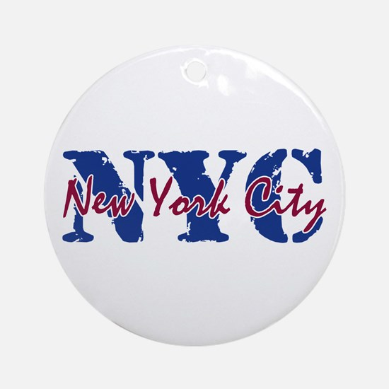 New York City Ornament (Round)