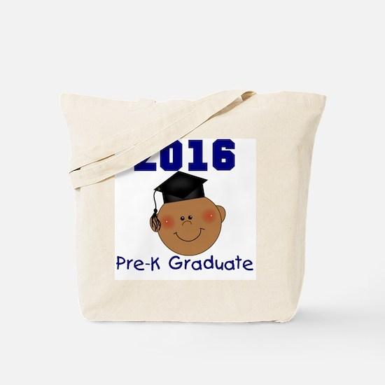 Boy 2016 Pre-K Grad Tote Bag