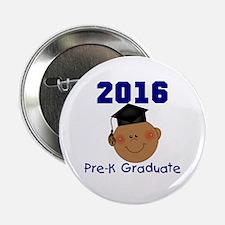 """Boy 2016 Pre-K Grad 2.25"""" Button"""