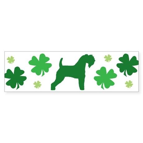 Kerry Blue & Shamrocks #2 Bumper Sticker