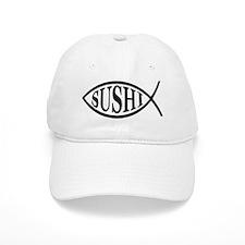 Sushi Fish Baseball Cap