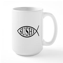 Sushi Fish Mug