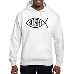 Sushi Fish Hooded Sweatshirt