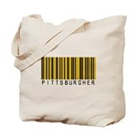 Pittsburgher Barcode Tote Bag