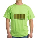 Pittsburgher Barcode Green T-Shirt