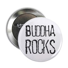 Buddha Rocks Button